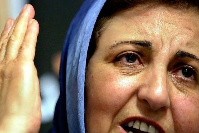 Nobelpreisträgerin Shirin Ebadi über die Lage im Iran