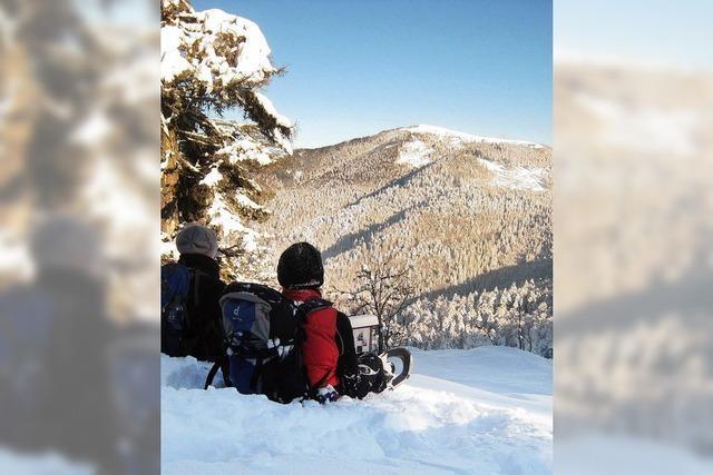 Zwei Tage im Schneeschuh-Paradies