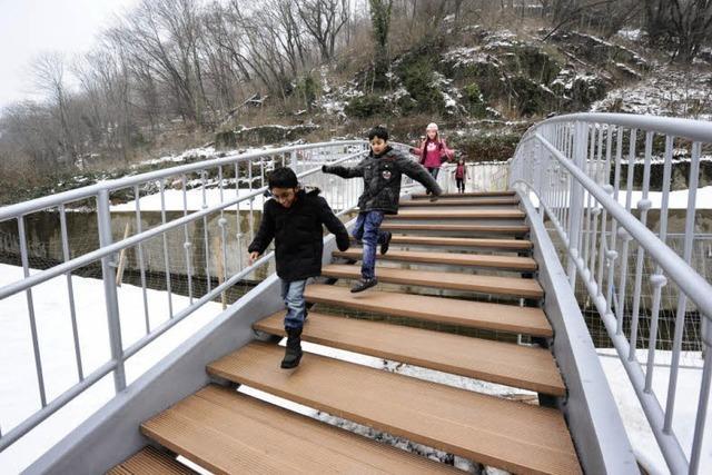 Neuer Weg auf den Schlossberg