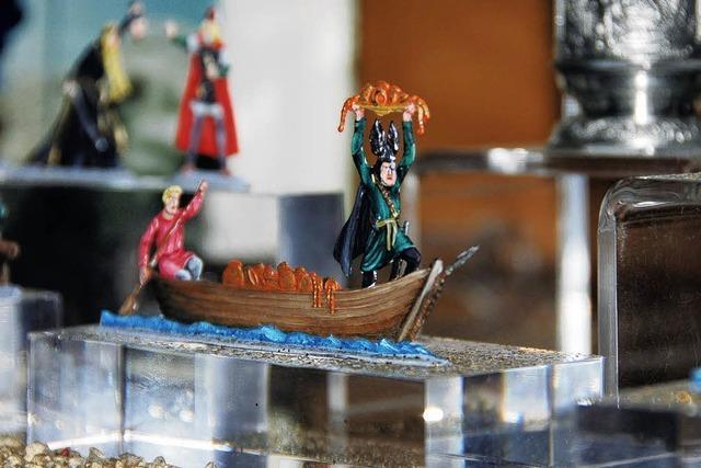 Fischer, Glücksritter und Nibelungen