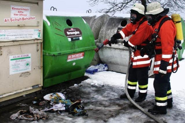 Bürger entdeckt Schwelbrand