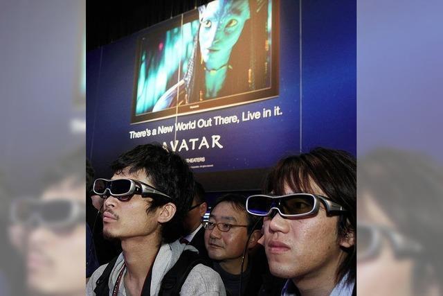 Technikbranche setzt auf 3D-Fernsehen