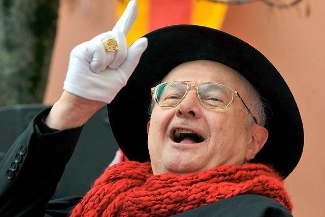 Erzbischof Robert Zollitsch erhält Narrenpreis