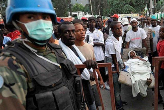 Caritas international: Militäreinsatz in Haiti sinnvoll