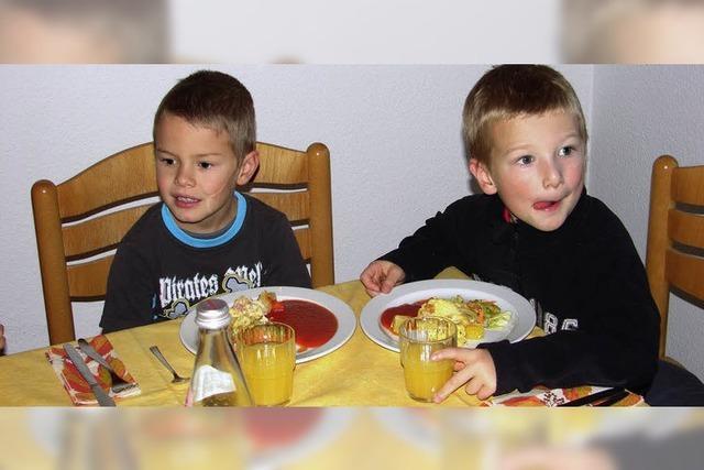 Mittagessen im Altenheim
