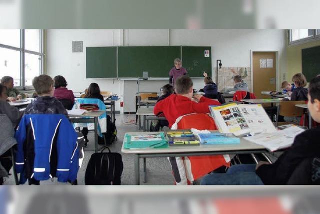 Schüler mit Lust auf mehr Französisch