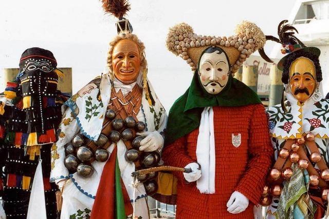 Seltene Begegnung: Närrischer Viererbund trifft sich in Oberndorf