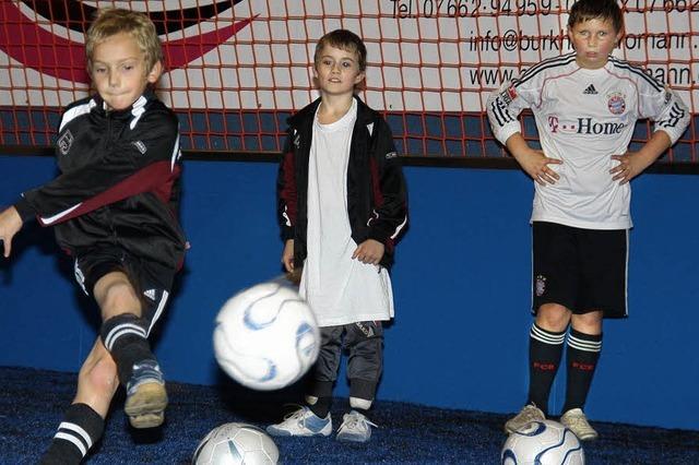 In der Fußballschule steht die Technik ganz oben