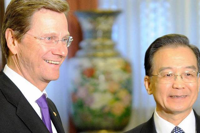 China und Deutschland: Höflich im Ton, uneins in der Sache
