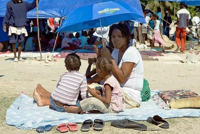 UN: Haiti ist schlimmste Katastrophe seit 1945