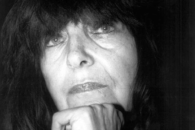 Peter-Huchel-Preis 2010 geht an Autorin Mayröcker