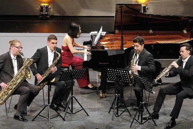 Klassisches auf dem Saxophon
