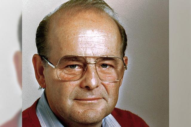 Karl Schmid ist verstorben