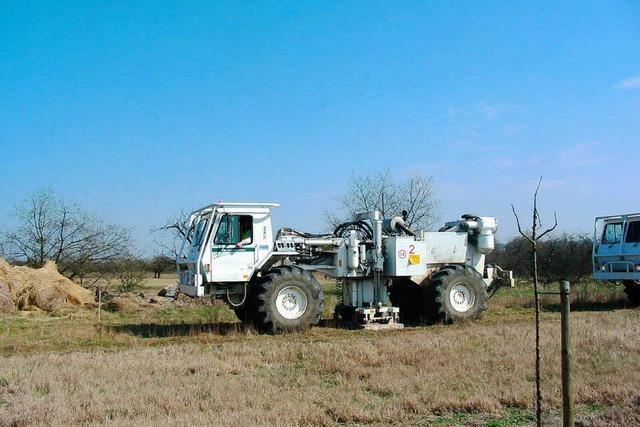 Große Vorbehalte gegen geplante Geothermieanlage am Rimsinger Ei