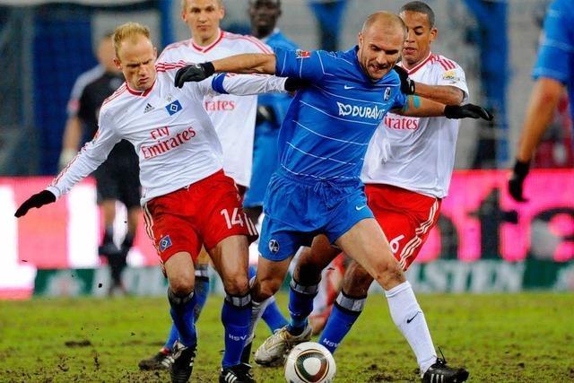 HSV gegen SC: Wann ist Rasen bundesligawürdig?