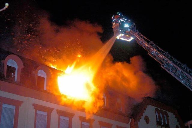 Brandstiftung oder reines Unglück ?