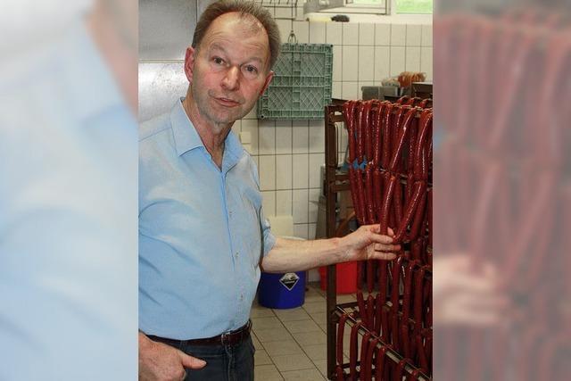 Wittnauer Ehrennadel für Franz Schmidt