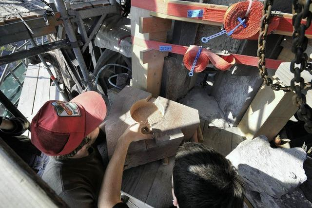 Sanierung Münsterturm: Ohne Spenden nicht zu machen