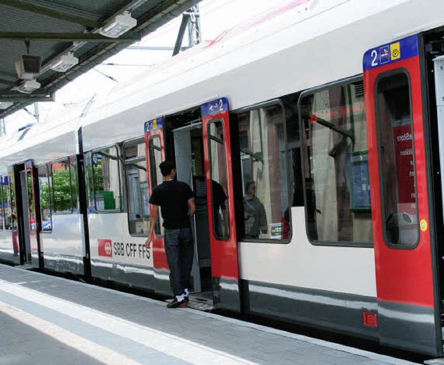 Pro Schiene Wiesental wird 25 Jahre al...r die Belange der Bahnreisenden ein.      Foto: Jung