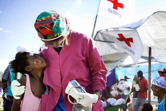 Haitis erwacht langsam aus der Schreckstarre
