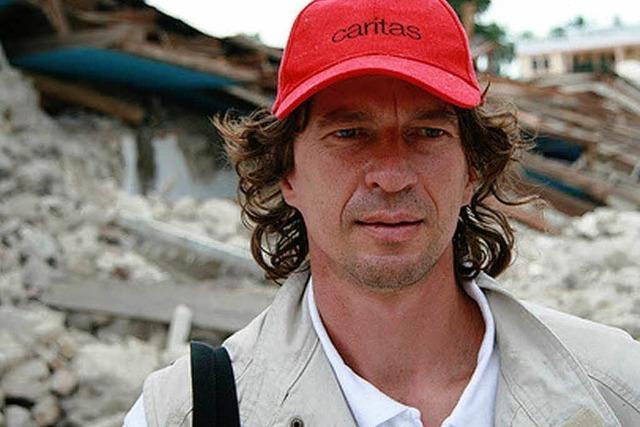 Caritas-Mitarbeiter über die Lage und die Hilfe in Haiti