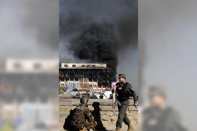 Taliban greifen Afghanistans Machzentrum an