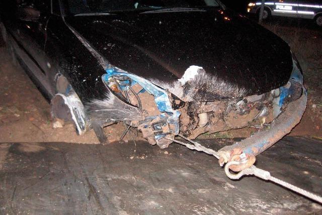 Autodieb nach halsbrecherischer Verfolgungsfahrt bei Kehl gestellt