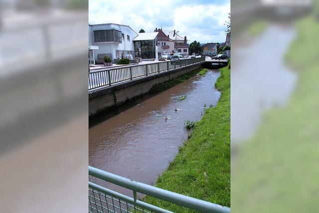 Schwimmbad und Ettenbach