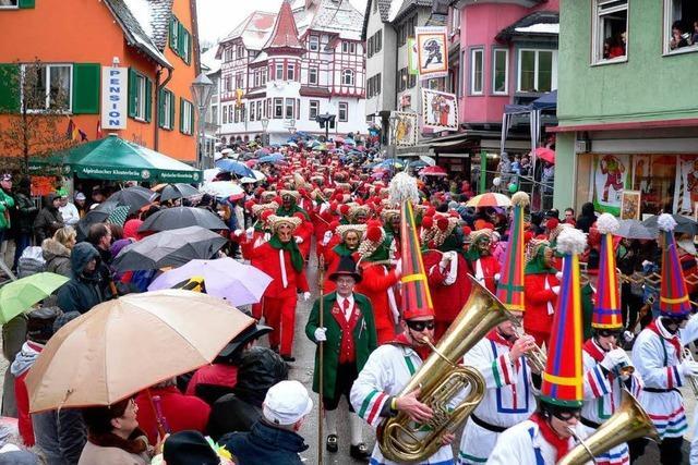 Familienfest der Narren am Neckar
