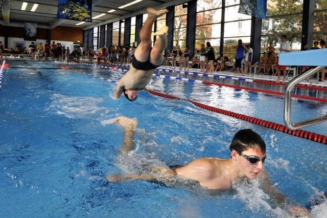 Schwimmen, um zu retten