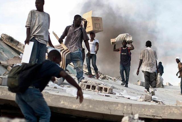 Neues Erdbeben schockt Helfer und Opfer in Haiti