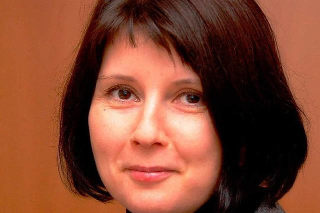 Bürgermeisterin Kathrin Schönberger kandidiert