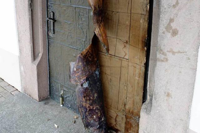 Kupferdiebe scheitern an der Kirchentür