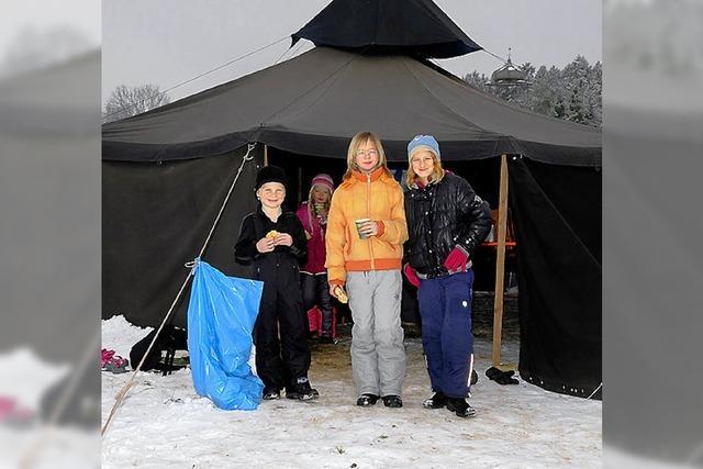 Spiel und Spaß war beim Wintersporttag angesagt