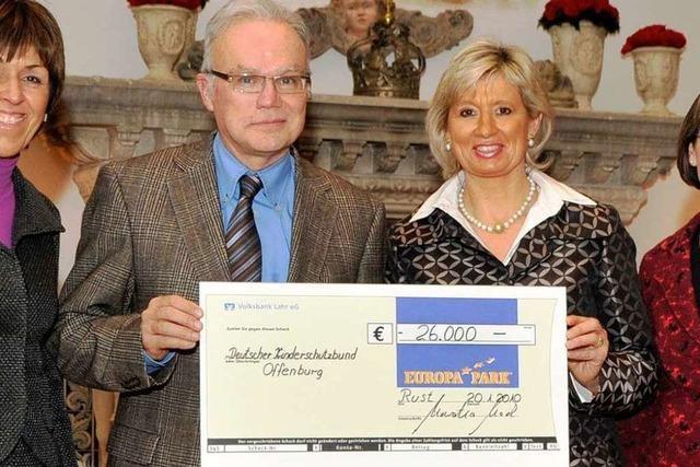 26 000 Euro für den Kinderschutzbund Ortenau