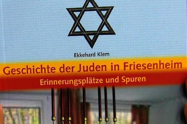 Schüler schreiben ein Buch über die Juden in Friesenheim
