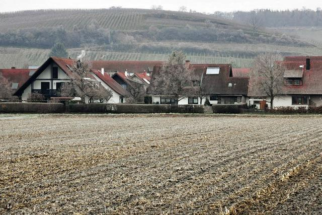 Eine Baulandreserve für die Hügelheimer