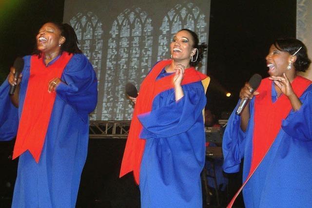 Auf Wolke Sieben mit den Gospel Singers