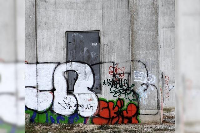 Pfeiler für die Straßenkunst