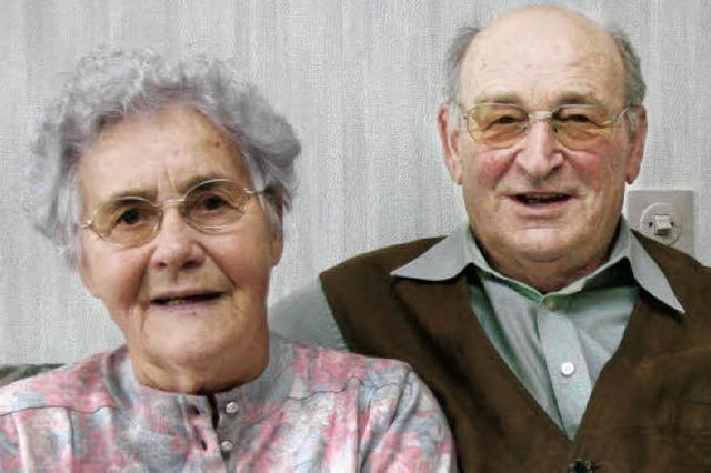 Ehe hält seit 60 Jahren