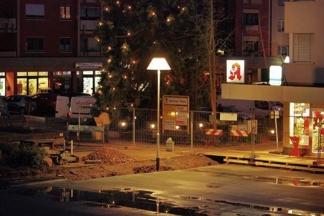 Berliner Platz erhält ab 8. Februar einen neuen Belag