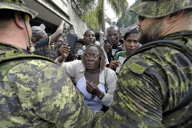 Nachbeben auf Haiti löst Panik aus