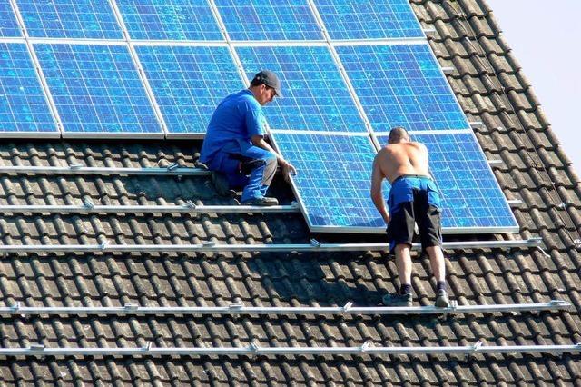 Regierung kürzt Beihilfen für die Solarbranche