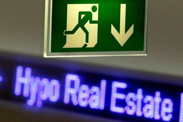 Hypo Real Estate beantragt riesige Bad Bank