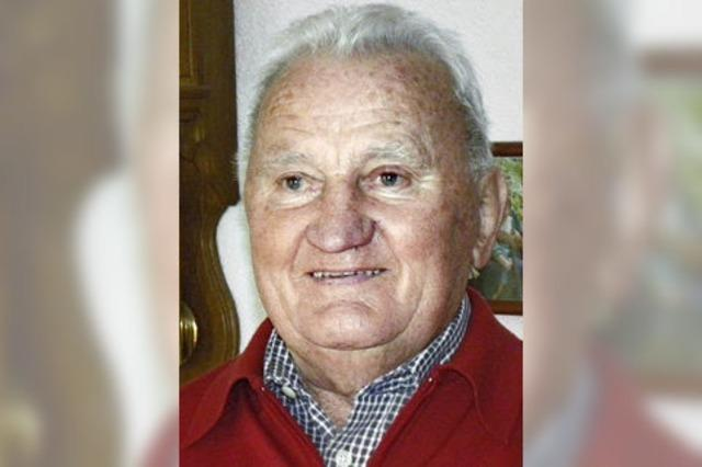 Karl Fischer wurde 80 Jahre