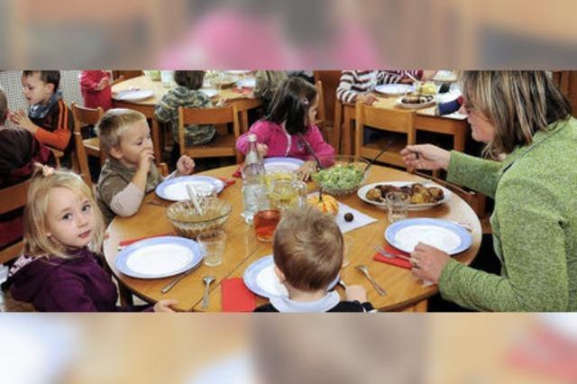 Kinder im Kindergarten kosten ab 1. März mehr