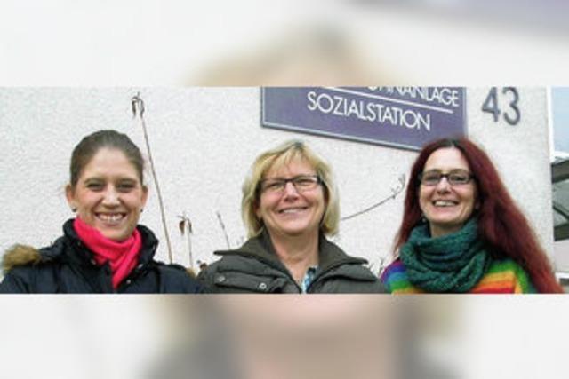Sozialstation ermöglicht, Examen zu machen