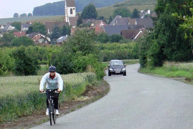 Radweg nach Binzen fehlt