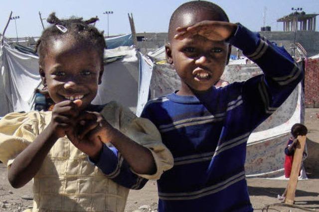 Alle Kollekten sind für Haiti