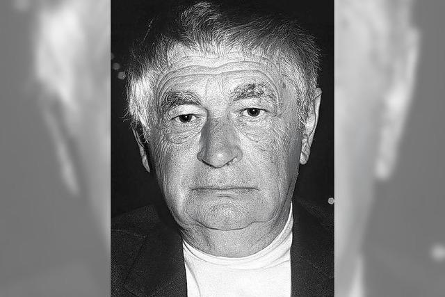 Erinnerung an den Dichter Peter Huchel